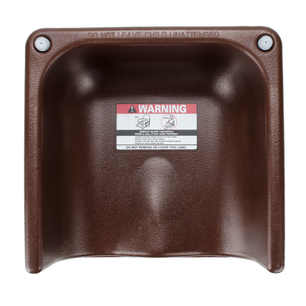Cambro 200bcs Dual Seat Booster Chair With Strap Brown