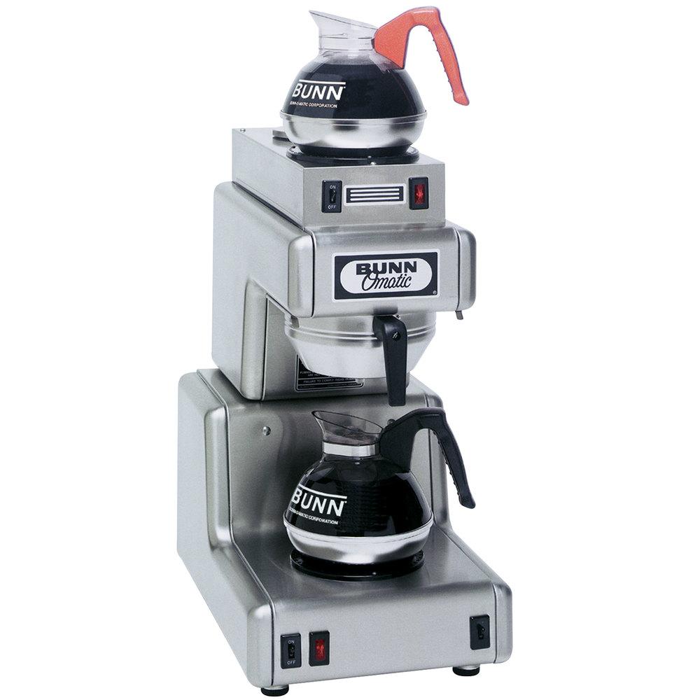 Bunn Coffee Maker 12 Cup Model Vpr Works Great. Bunn Tb6 Dual Twin 3 Gallon Commercial Iced Tea ...