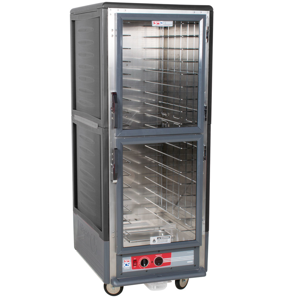 Elegant Metro C539 HLDC 4 C5 3 Series Insulated Low Wattage Full Size Hot Holding  Cabinet With Fixed Wire Slides And Clear Dutch Doors   Gray Great Ideas