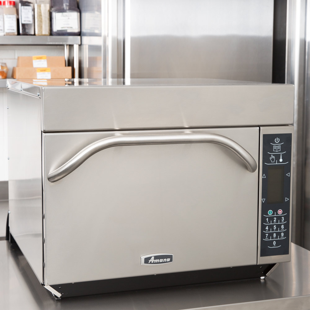 Amana Countertop Convection Oven : Amana Xpress AXP22TL High-Speed Accelerated Cooking Countertop Oven ...