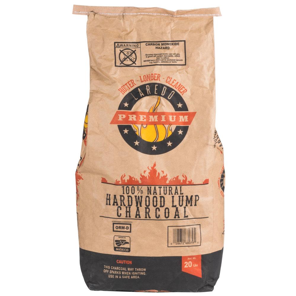Laredo premium natural hardwood lump charcoal lb