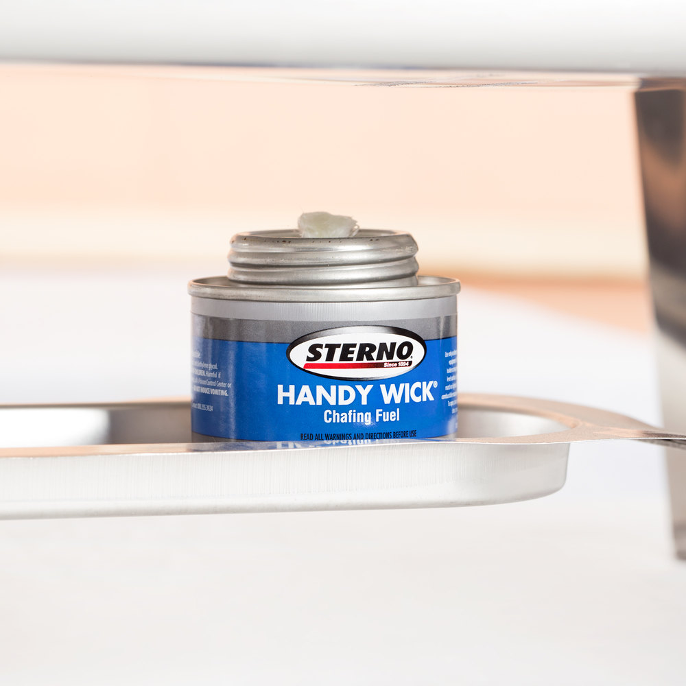 Sterno Products 10104 2 Hour Handy Wick Chafing Fuel - 48/Case