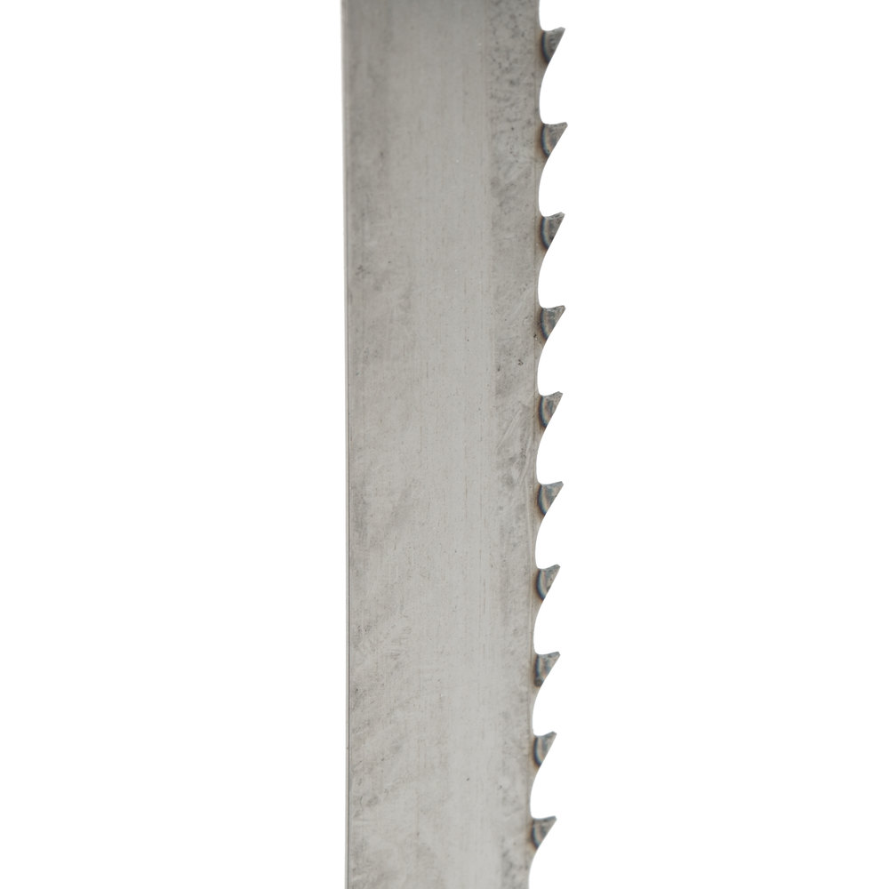 "78"" Band Saw Blade for Frozen Meat and General Use - 4 Teeth / Inch"