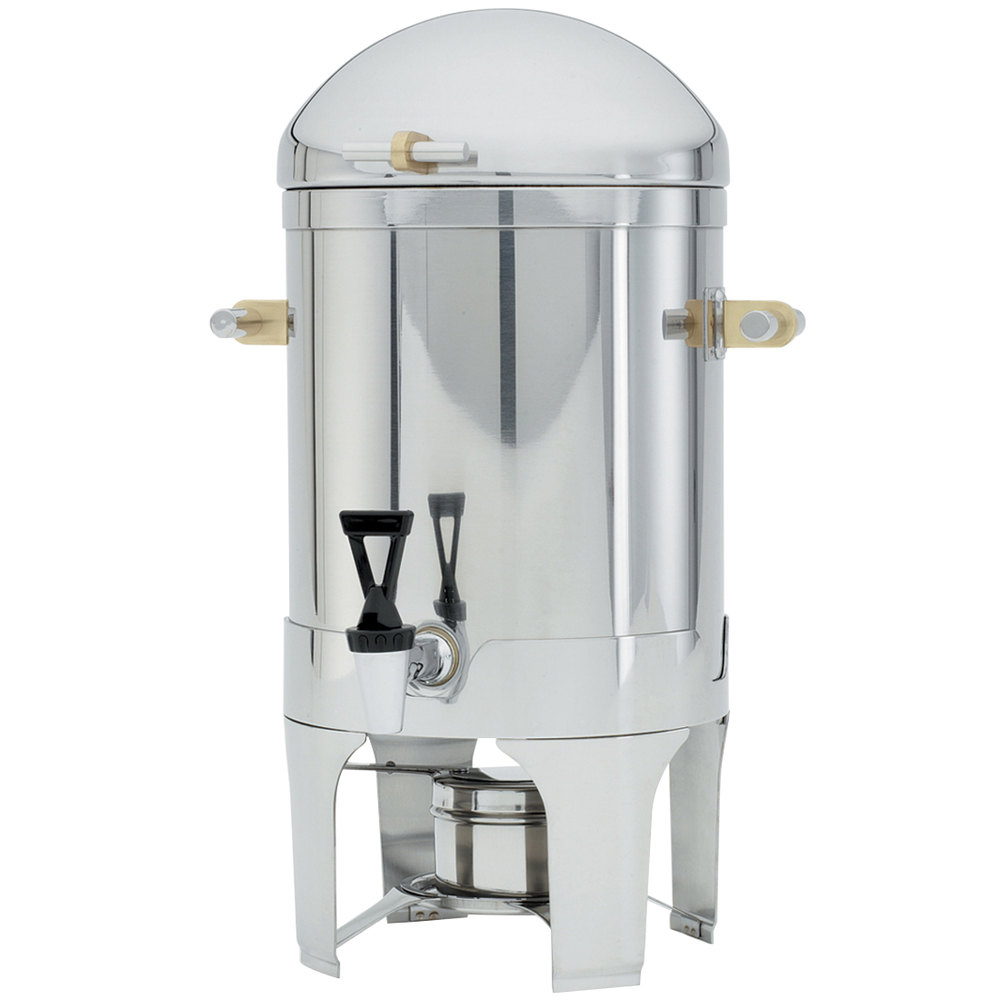 Vollrath 46094 5 Gallon New York, New York Coffee Urn with Brass Trim