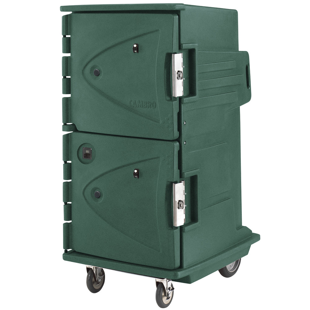 Cambro CMBHC1826TBF192 Granite Green Camtherm Electric Food Holding Cabinet Tall Profile - Hot / Cold