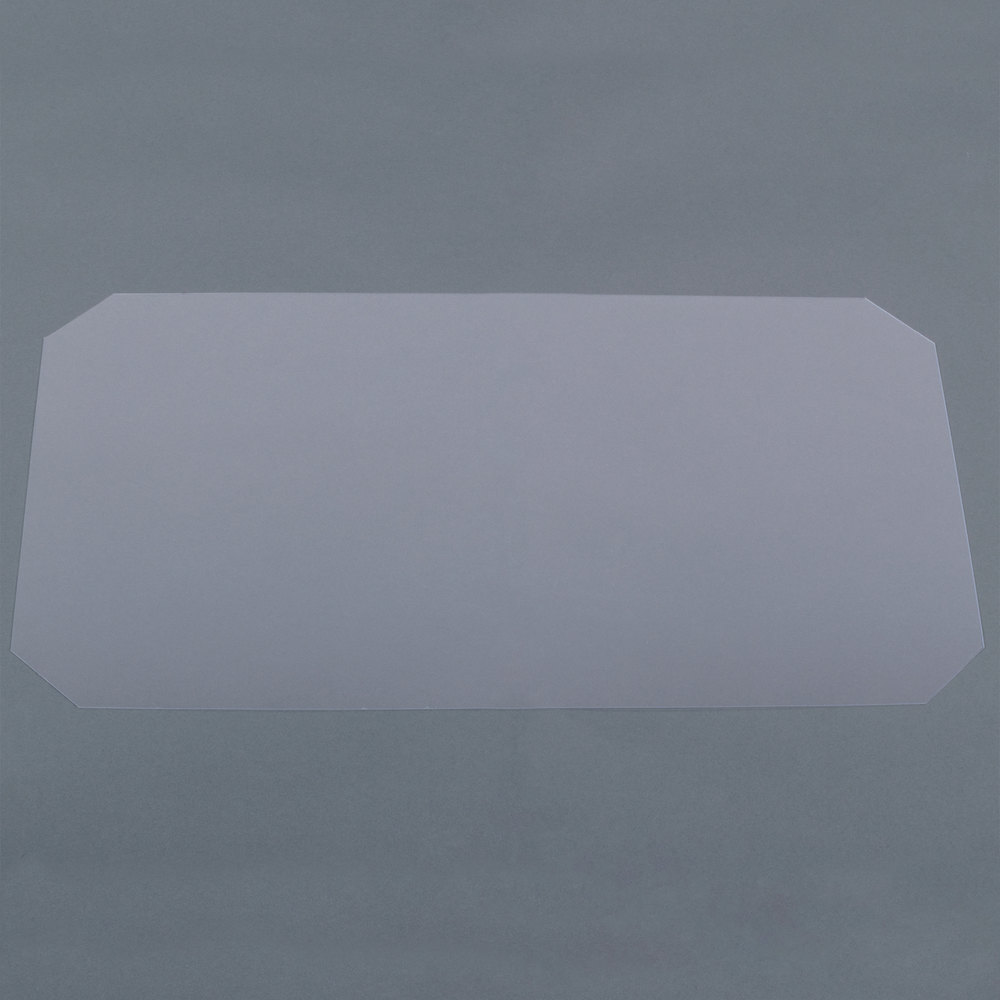 Regency Shelving Clear PVC Shelf Mat Overlay - 14 inch x 24 inch