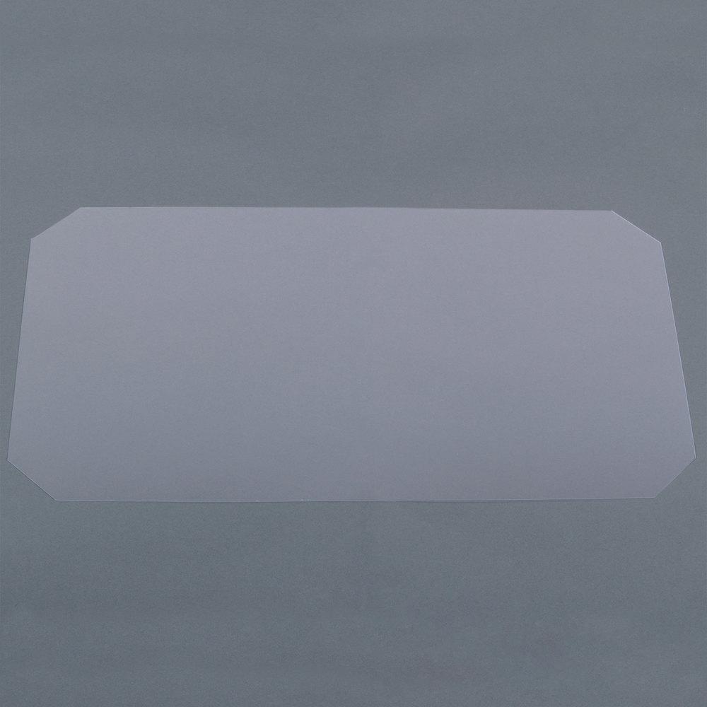Regency Shelving Clear PVC Shelf Mat Overlay - 14 inch x 24 inch