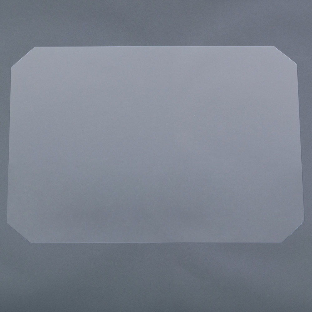 Regency Shelving Clear PVC Shelf Mat Overlay - 18 inch x 24 inch