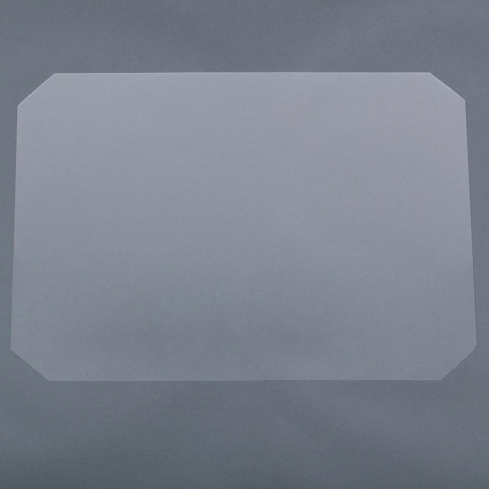 Regency Shelving Clear PVC Shelf Mat Overlay - 18 inch x 24 inch