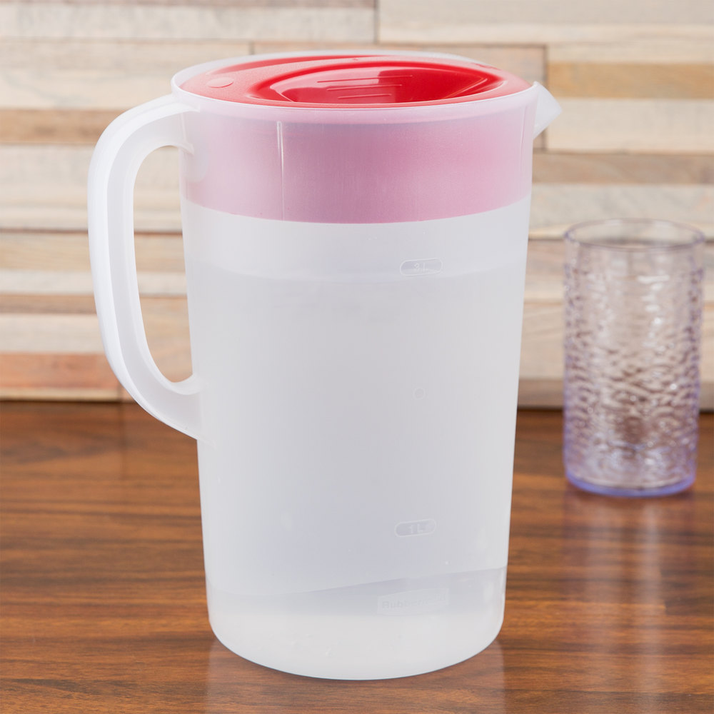 rubbermaid   gallon plastic pitcher with lid - placeholder image requested by buyer