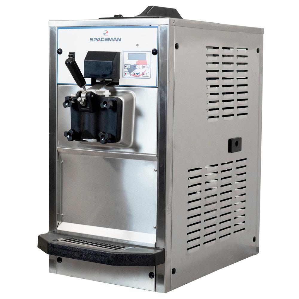 Spaceman 6236H Soft Serve Ice Cream Machine with 1 Hopper ...