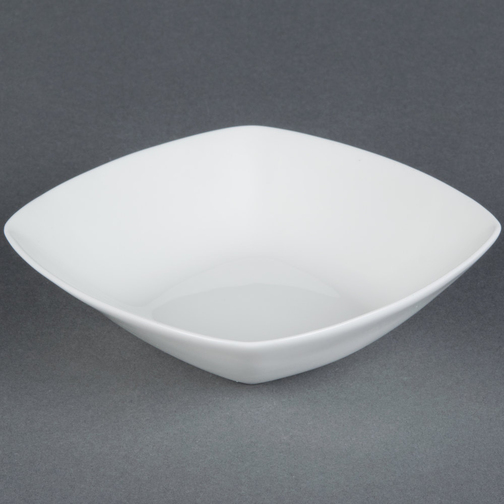 Cac Maj B6 Majesty European Bone China 10 Oz Square Bowl