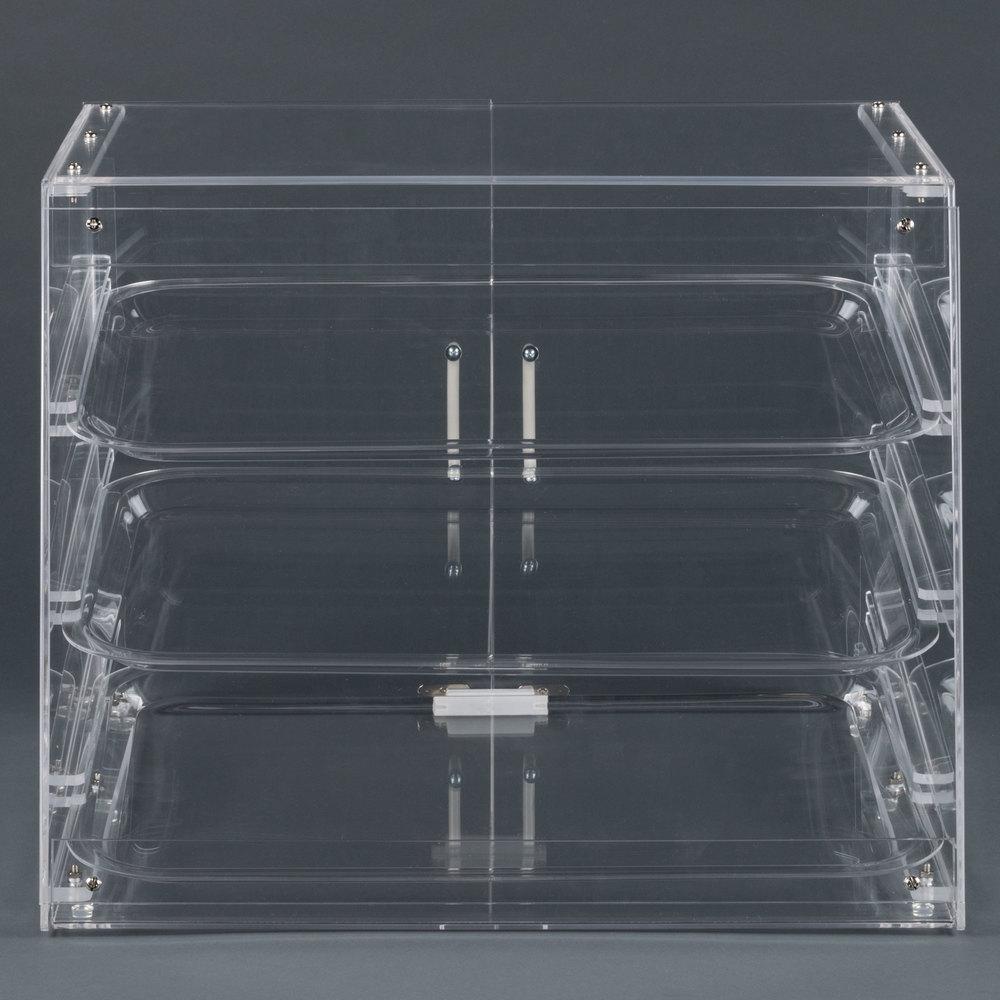Choice 3 Tray Bakery Display Case With Rear Doors