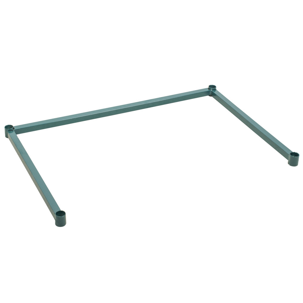 Regency Three-Sided Green Epoxy 24 inch x 36 inch Frame for Wire Shelving