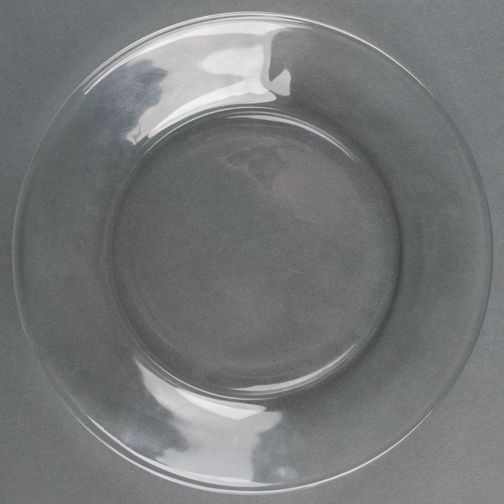 Libbey 1788491 moderno 7 1 2 glass salad dessert plate for Glass 2 glass
