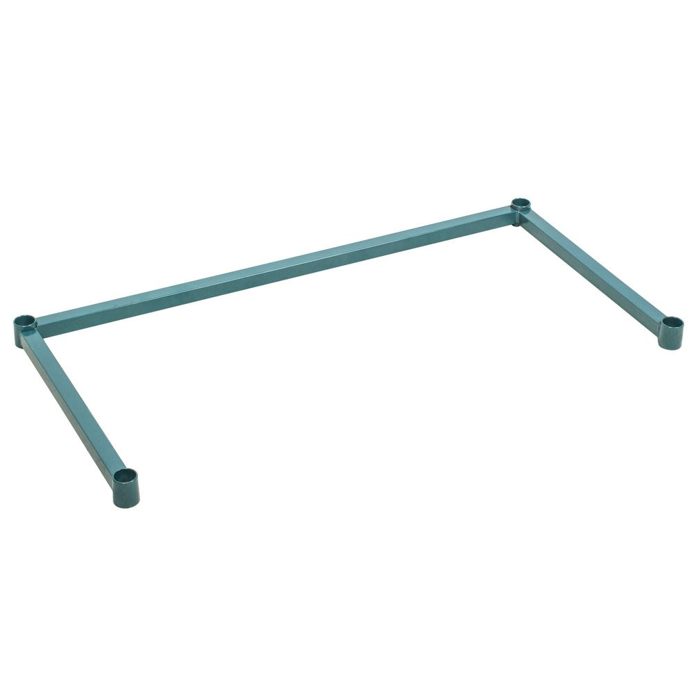 Regency Three-Sided Green Epoxy 18 inch x 36 inch Frame for Wire Shelving