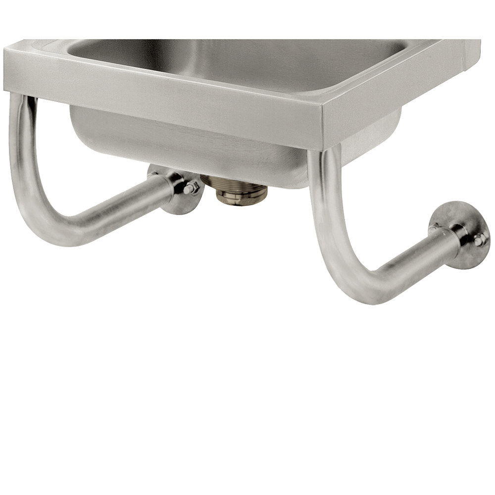 Advance Tabco 7 Ps 24 Tubular Wall Supports For 10 Quot X 14