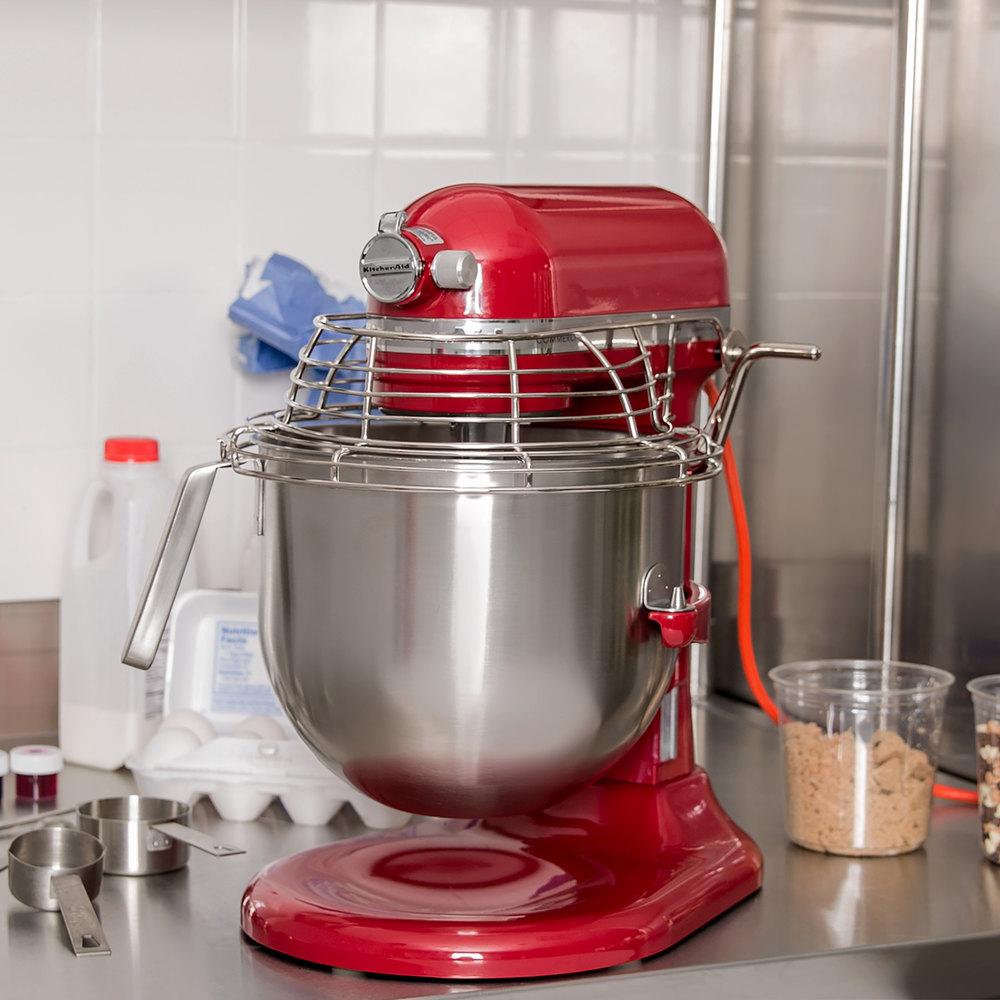 Electric Beater For Kitchenaid Mixer ~ Red kitchenaid qt commercial mixer bowl guard