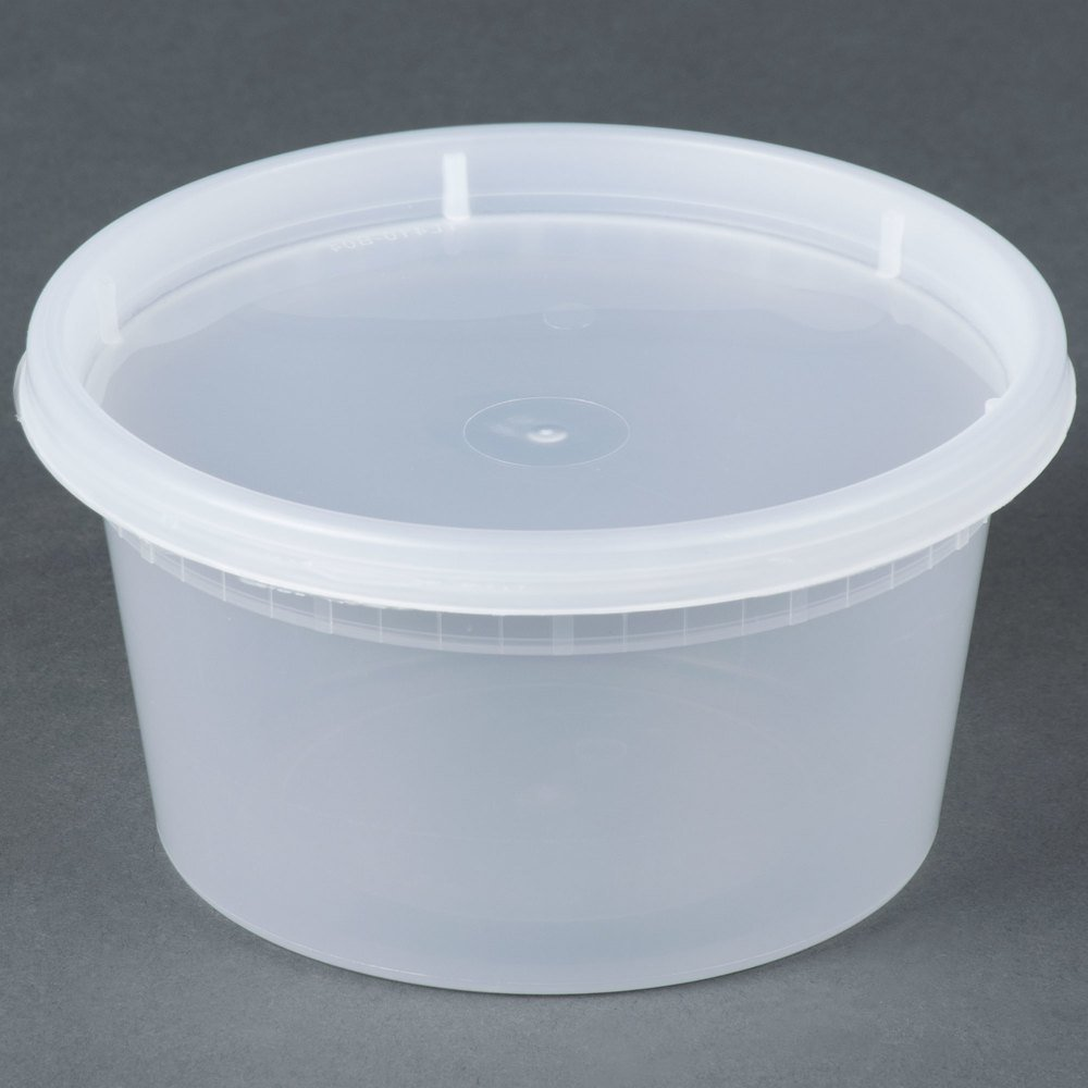 Poly Containers Cucinaprime Poly Coated Paper Food