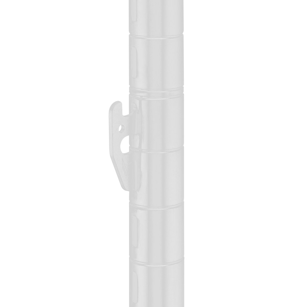 Metro 63UPQW qwikSLOT White Mobile Post - 62""