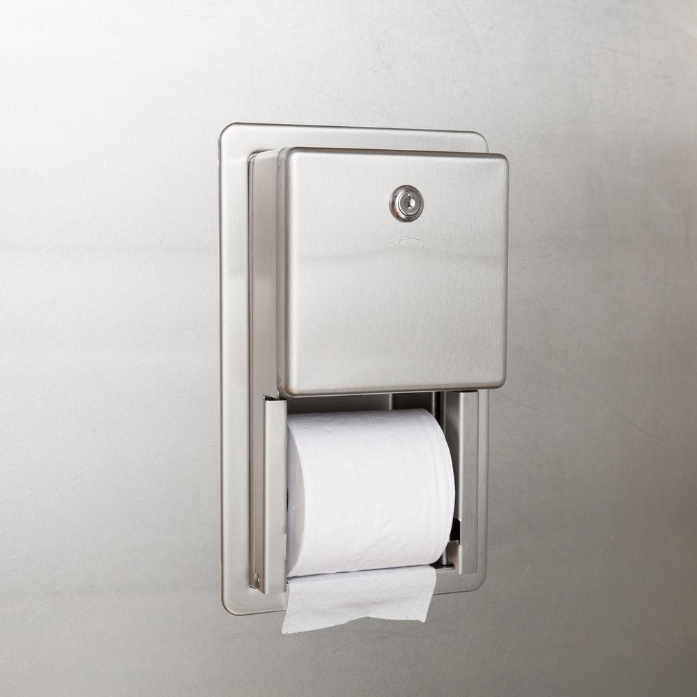 Bobrick B-3888 ClassicSeries Multi Roll Recessed Toilet