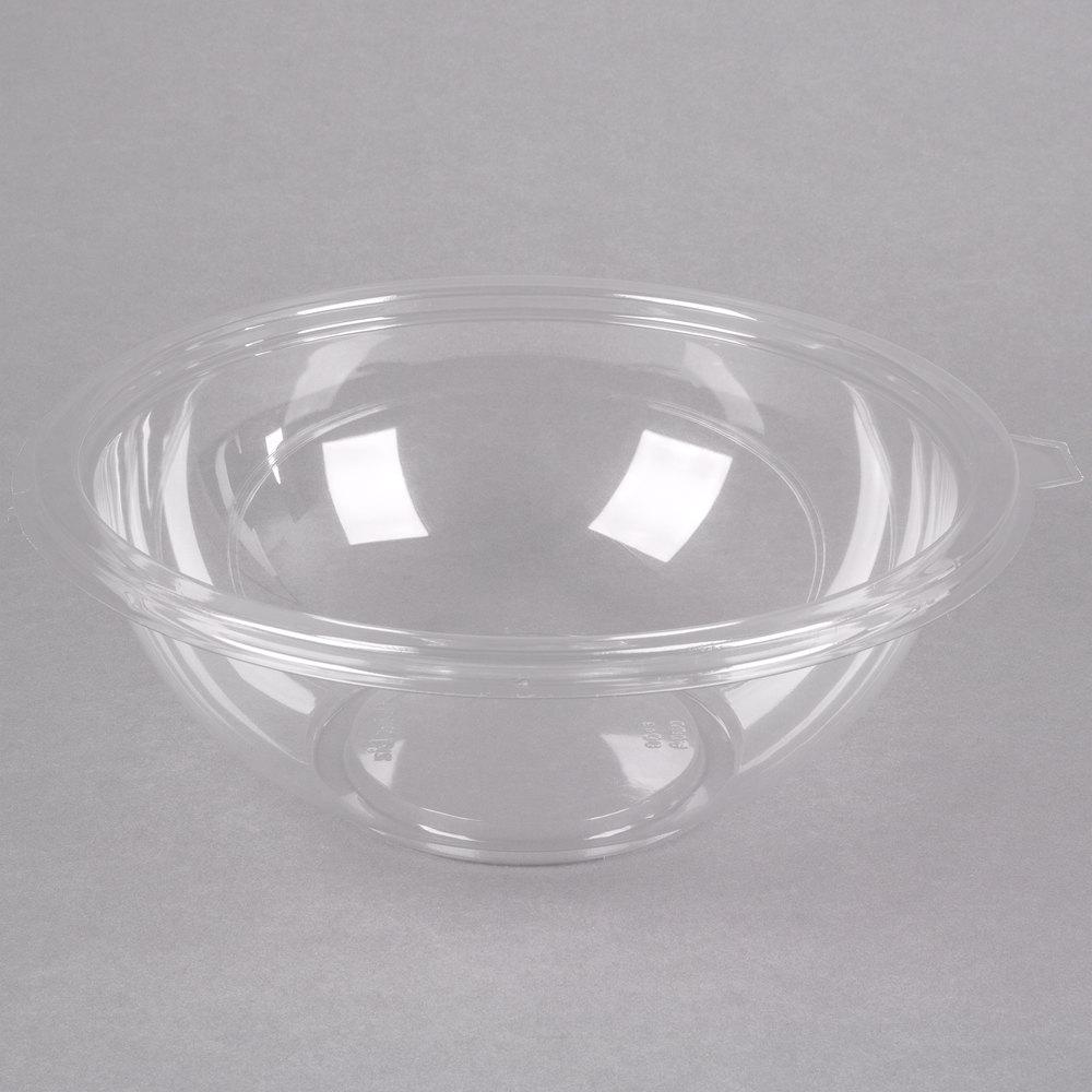 fineline 5080 cl super bowl 80 oz clear pet plastic bowl 5 pack. Black Bedroom Furniture Sets. Home Design Ideas