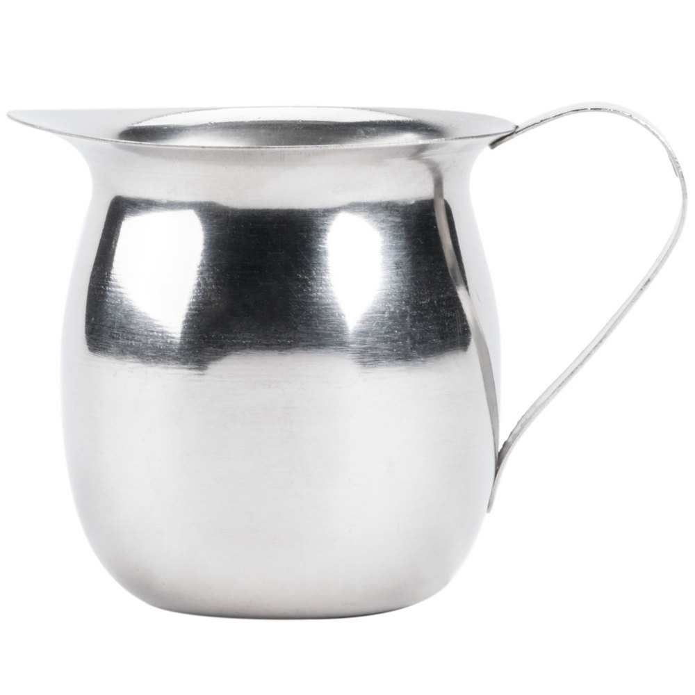 oz stainless steel bell creamer - stainless steel bell creamer main picture