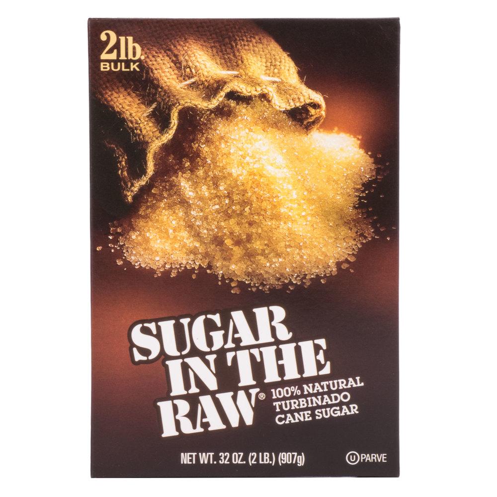 Sugar In The Raw 2 Lb Box