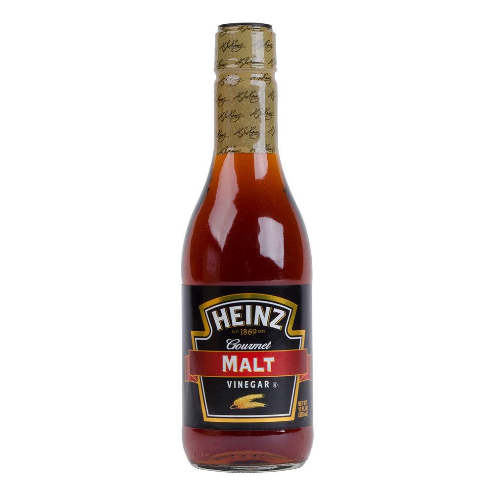 Heinz Malt Vinegar 12 Oz Glass Bottle 12 Case