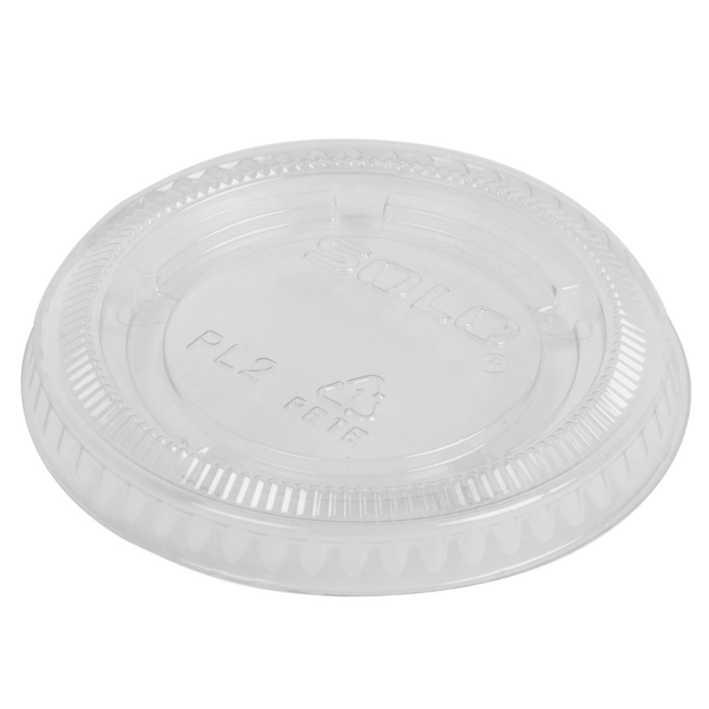 Dart Solo Pl2n Medium Clear Lid For Souffle Portion