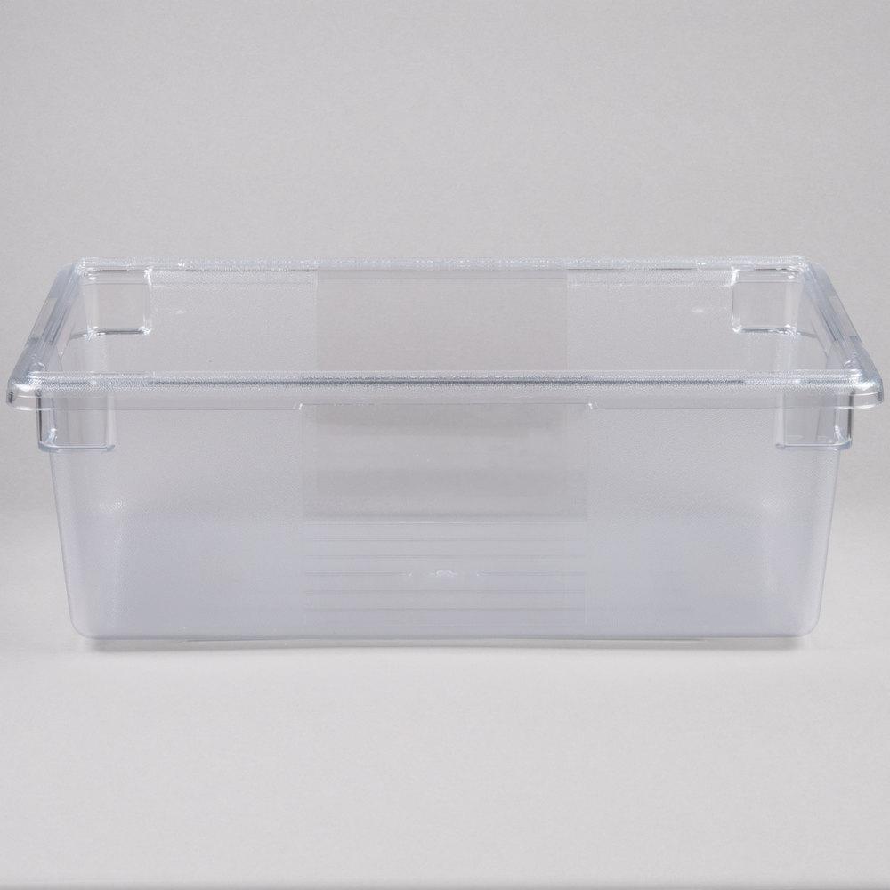 rubbermaid fg330000clr clear polycarbonate food storage. Black Bedroom Furniture Sets. Home Design Ideas