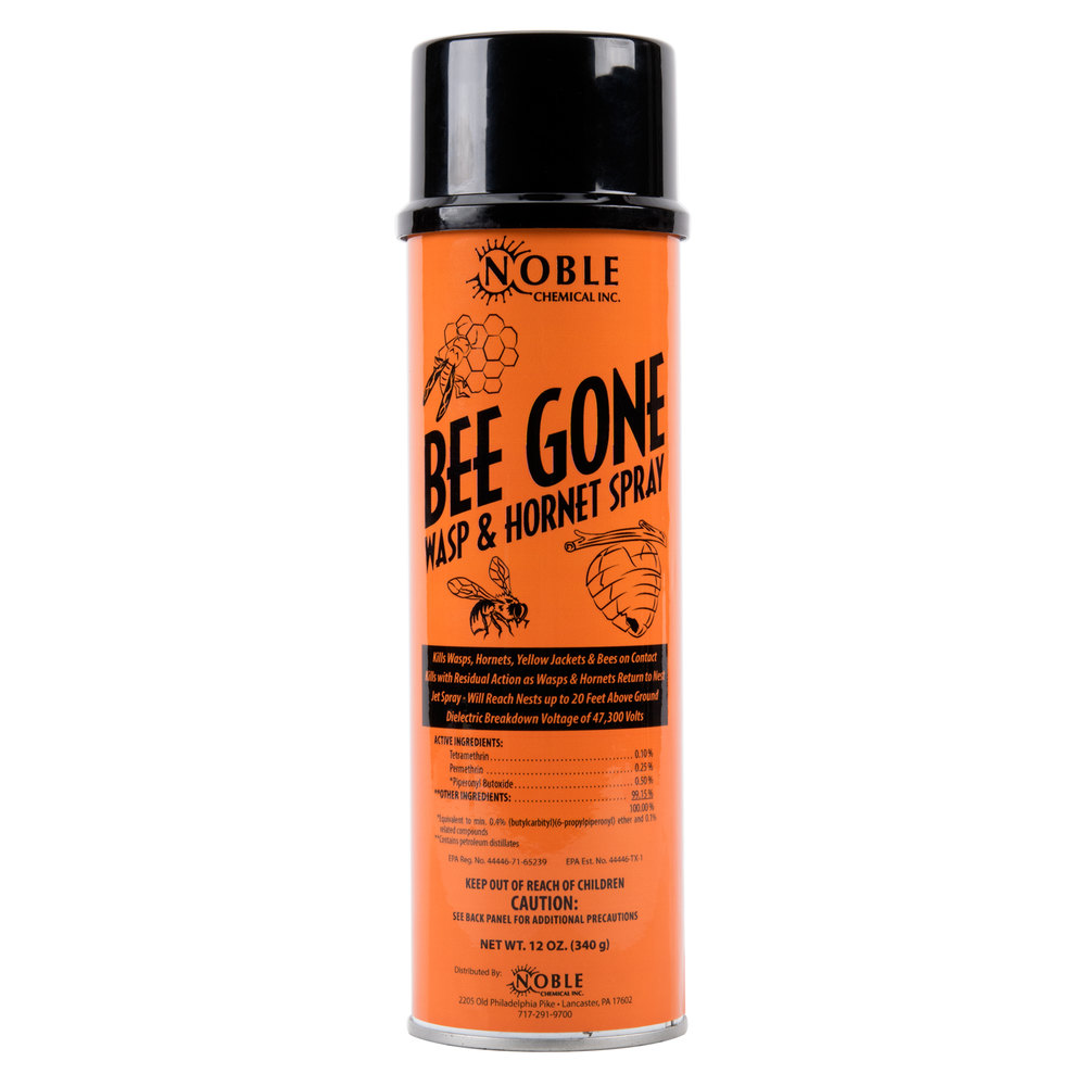 Noble Chemical Bee Gone Wasp Amp Hornet Spray Aerosol 12 Oz
