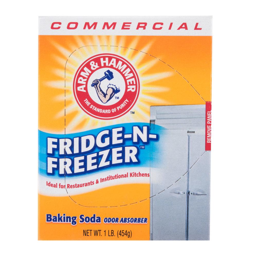 Arm & Hammer 16 oz. Fridge-N-Freezer Baking Soda Odor Absorber