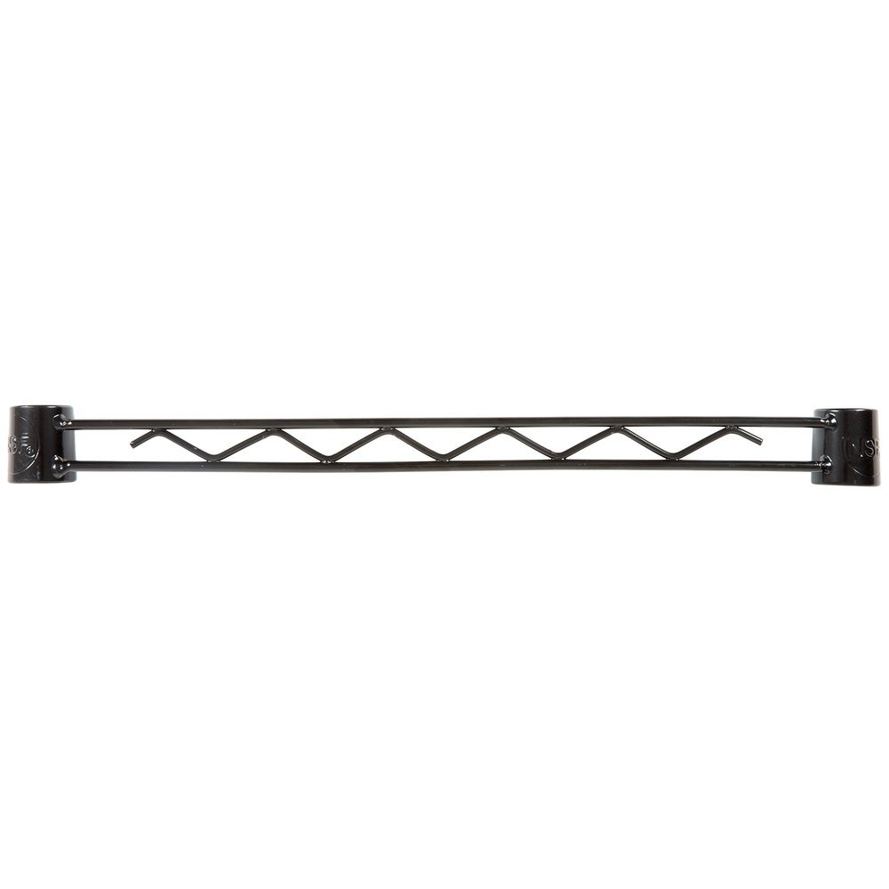 Regency Black Epoxy Hanger Rail - 18 inch