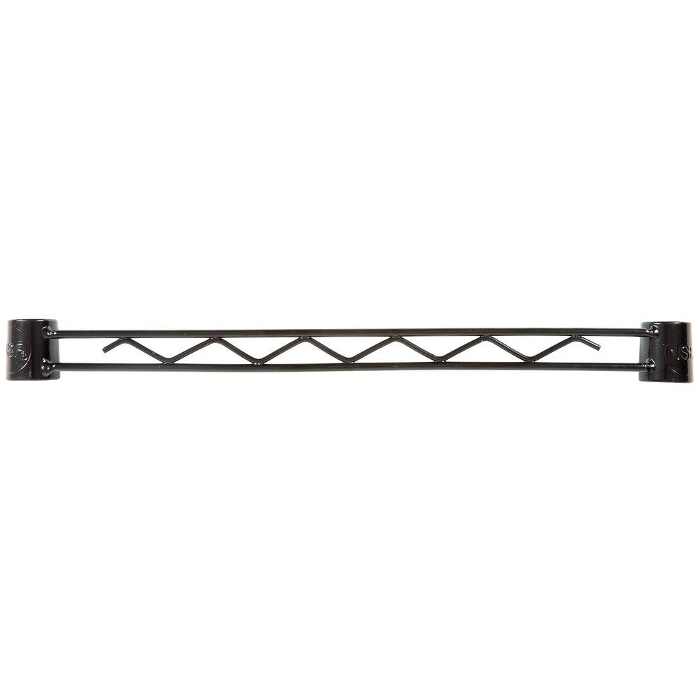 Regency Black Epoxy Hanger Rail - 18 inch