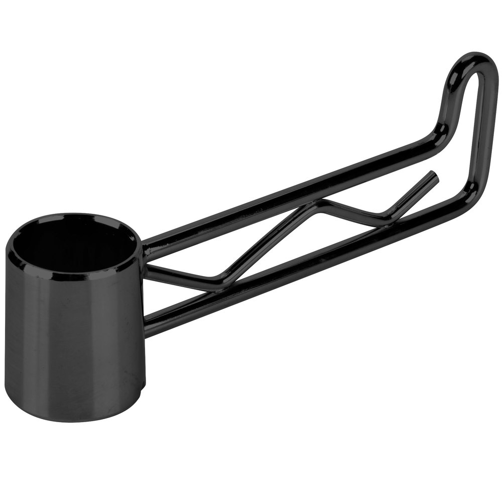 Regency Black Epoxy Swing Hook - 6 1/4 inch