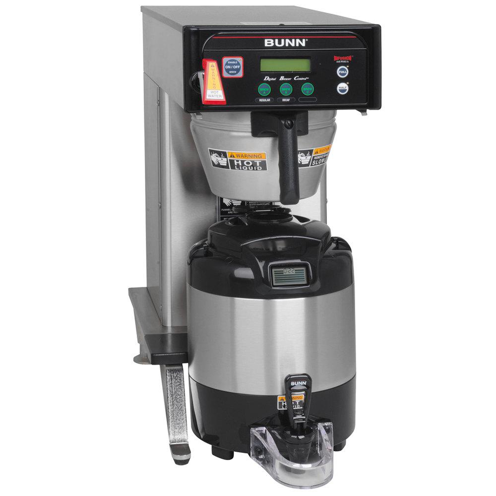 Bunn Coffee Maker Guarantee : Bunn Coffee Maker.Amazoncom Bunn Cw15 Aps Commercial Brewer Drip Kitchen U0026 Dining. Bunn ...