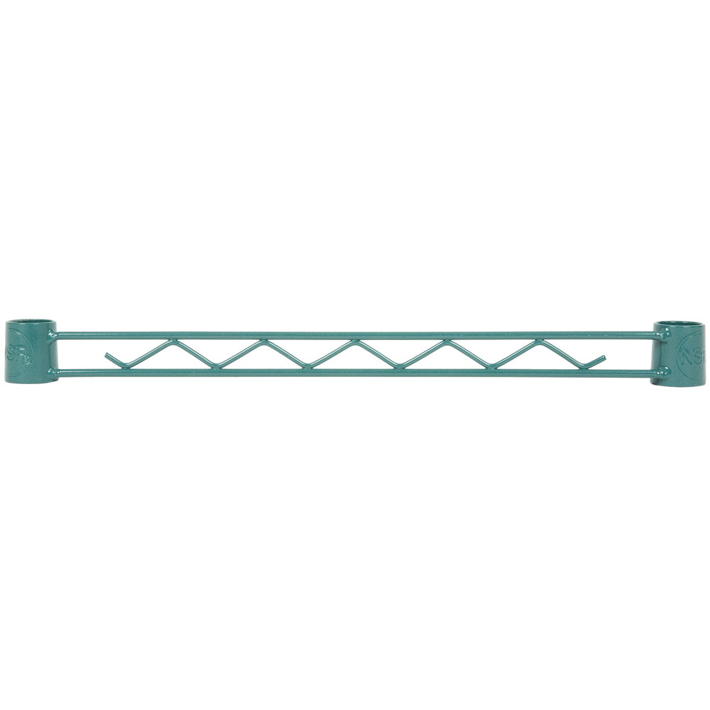 Regency Green Epoxy Hanger Rail - 18 inch
