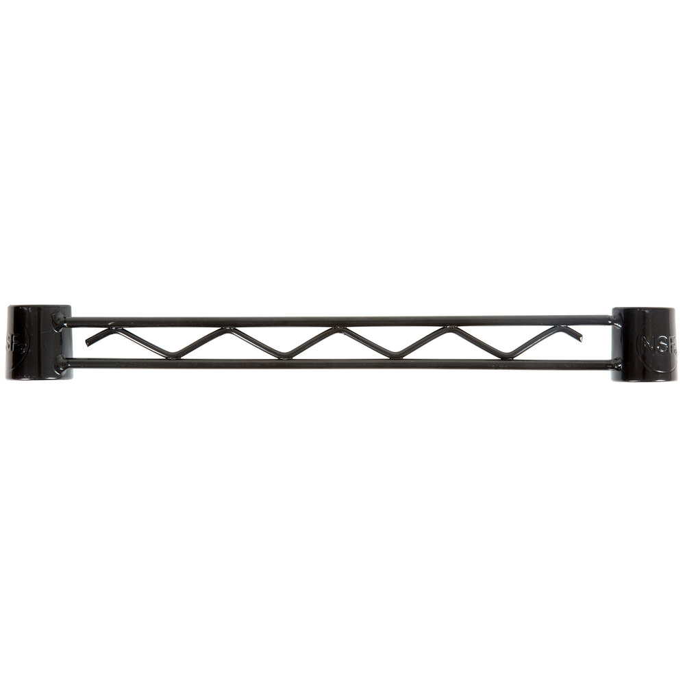 Regency Black Epoxy Hanger Rail - 14 inch