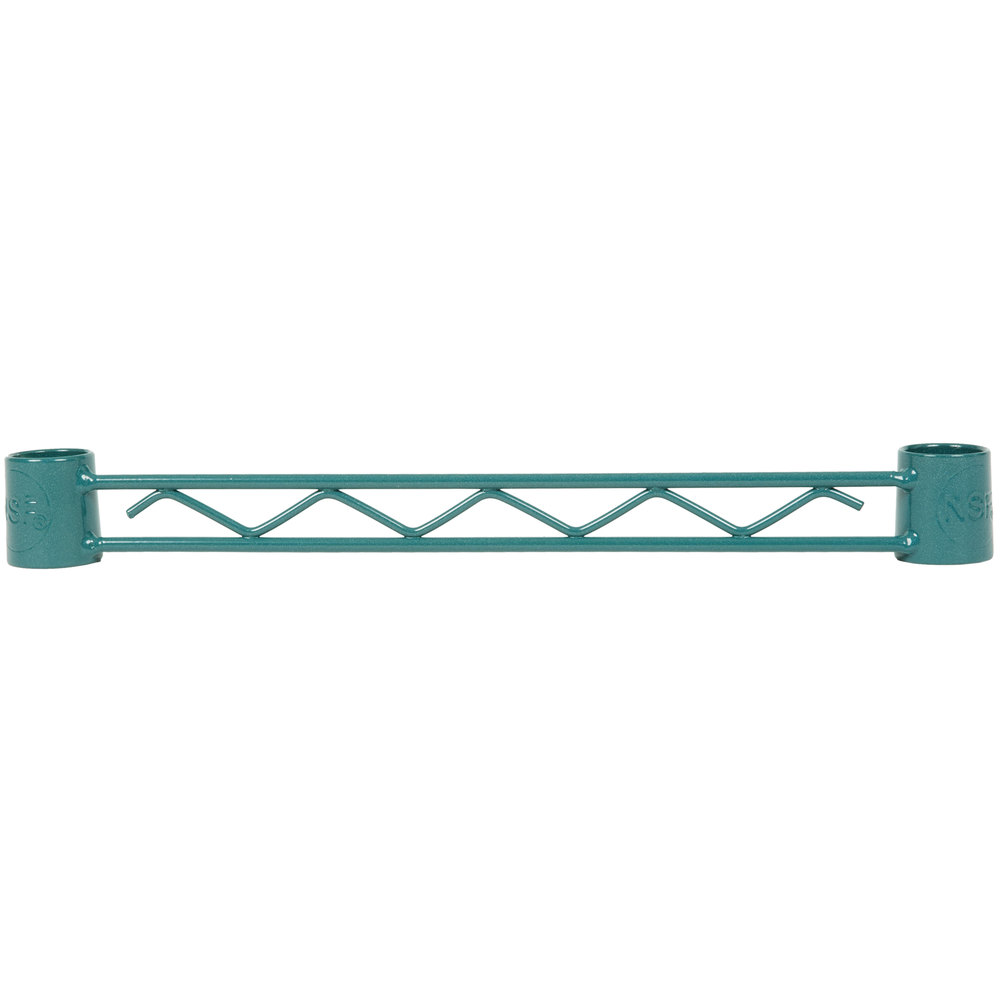 Regency Green Epoxy Hanger Rail - 14 inch