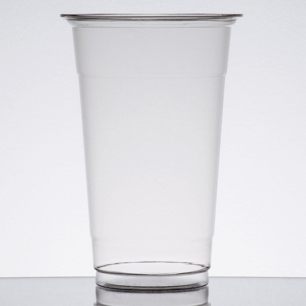 Choice 20 Oz Clear Pet Plastic Cold Cup 600 Case