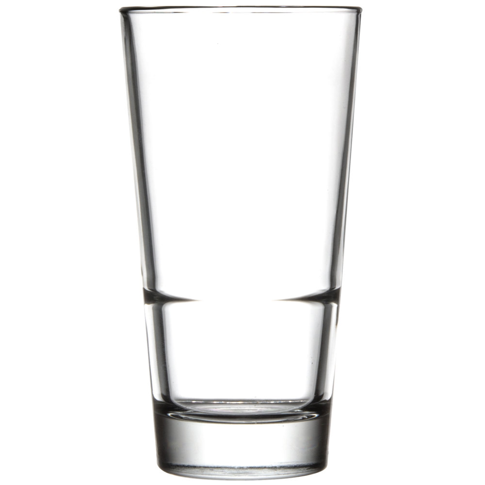 Libbey 15720 Endeavor 16.5 oz. Stacking Pub Glass - 12/Case