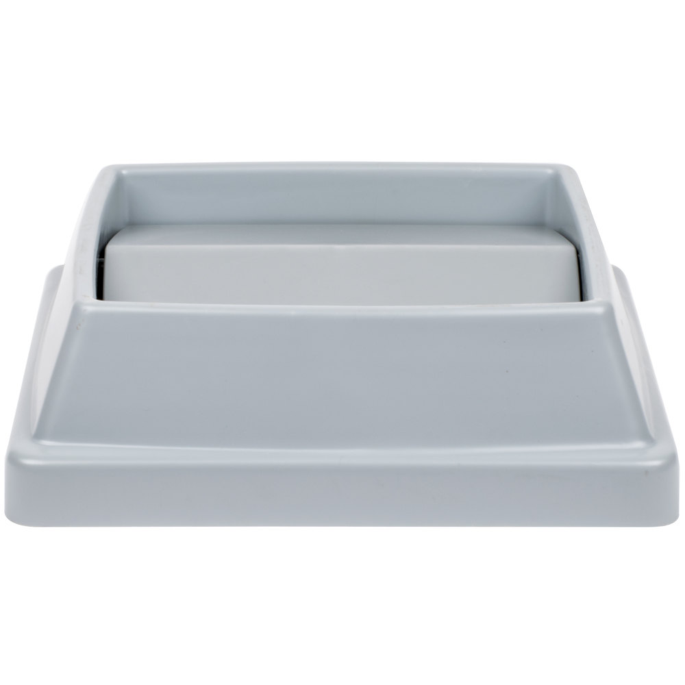Continental T1700gy 16 Quot Gray Square Tip Top Lid For 25 And