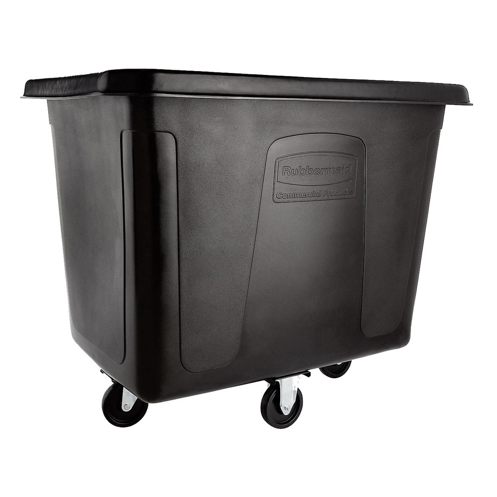 Rubbermaid Fg461600bla 16 Cu Ft Black Cube Truck 500 Lb Capacity