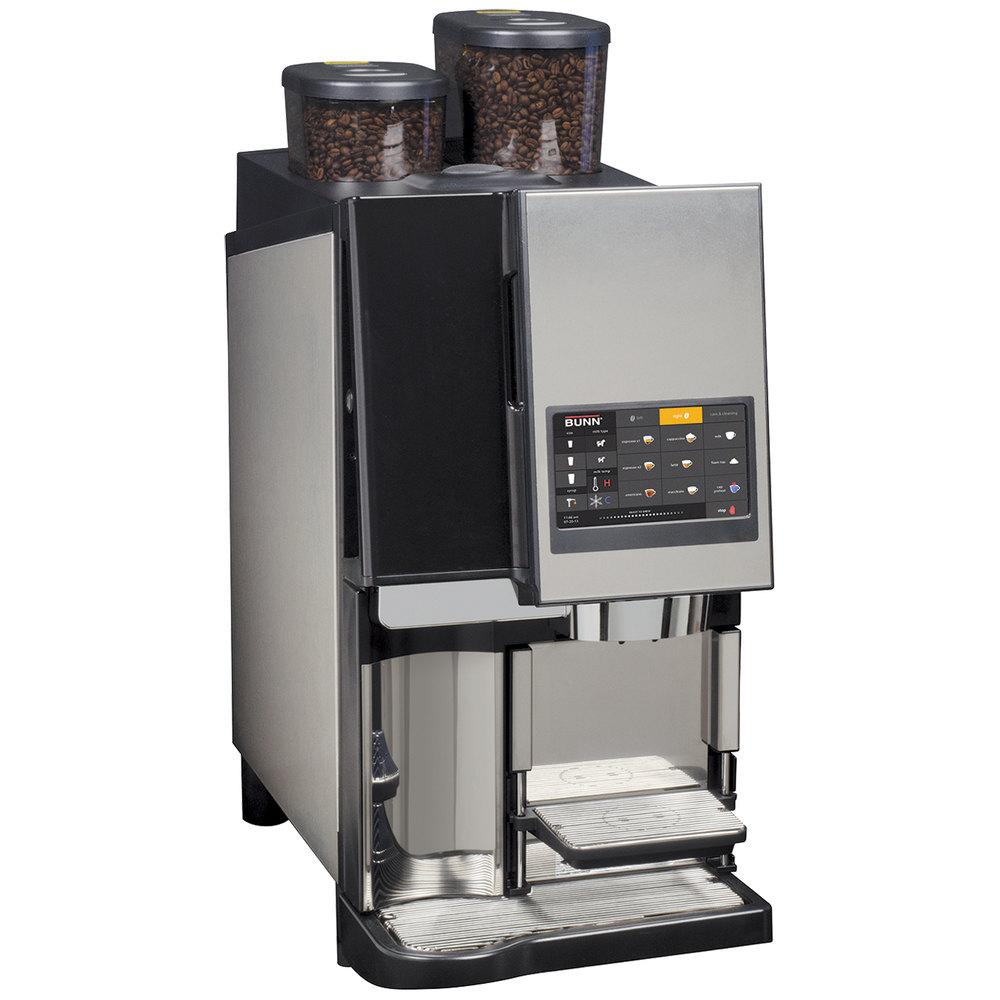 coffee machine bunn