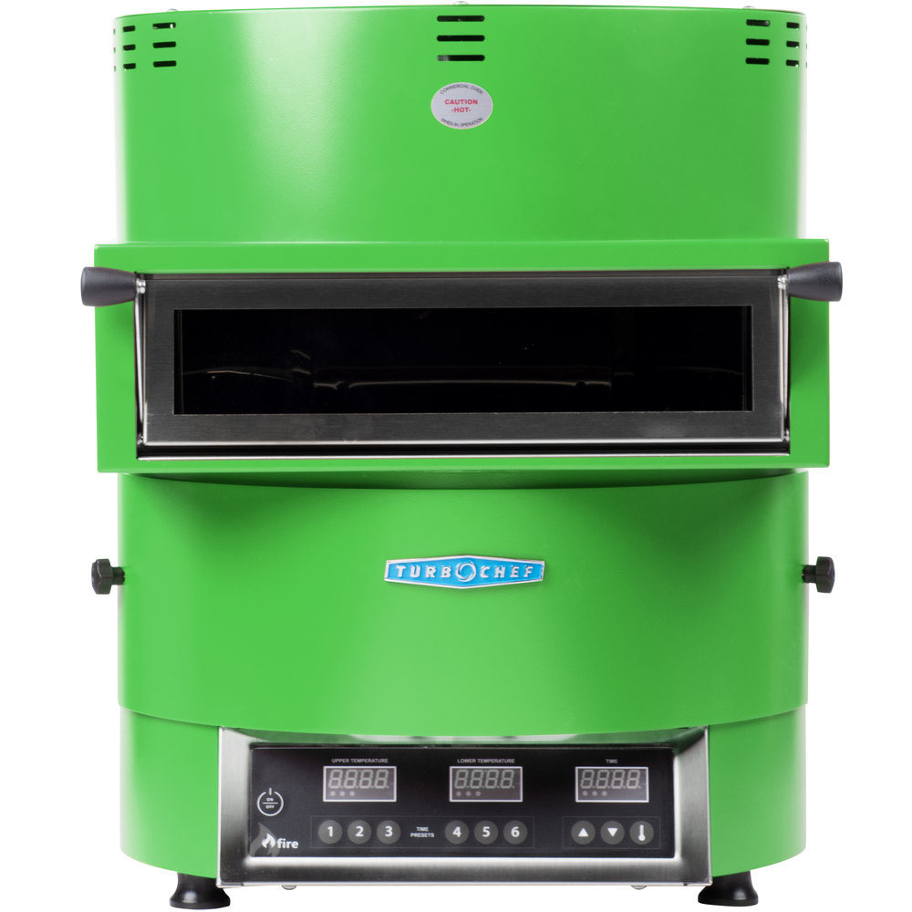 Used Turbo Chef: Turbochef Fire FRE-9500-2 Green Countertop Pizza Oven