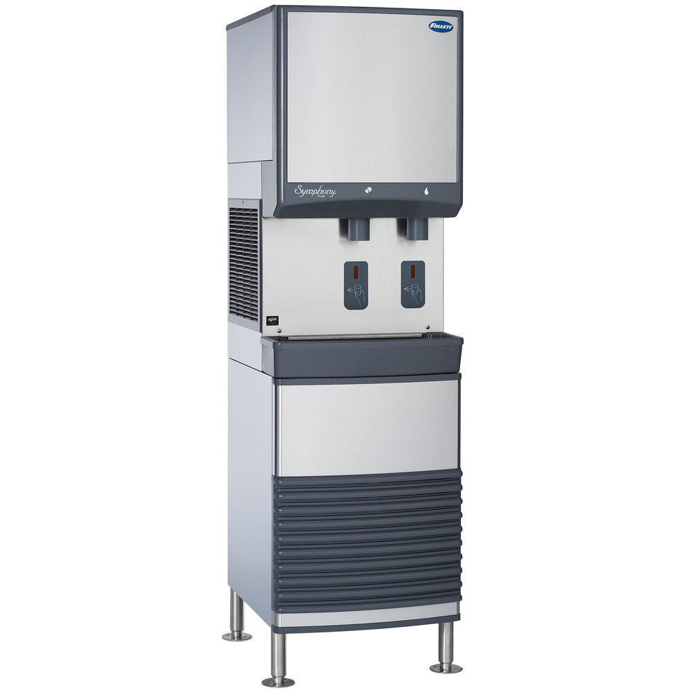16kw Air Cooled Water Cooler : Follett fb a s series air cooled freestanding ice