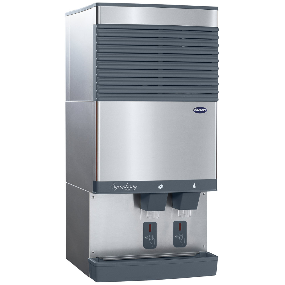 Follett 110CT425AS Symphony Countertop Air Cooled Ice Maker and