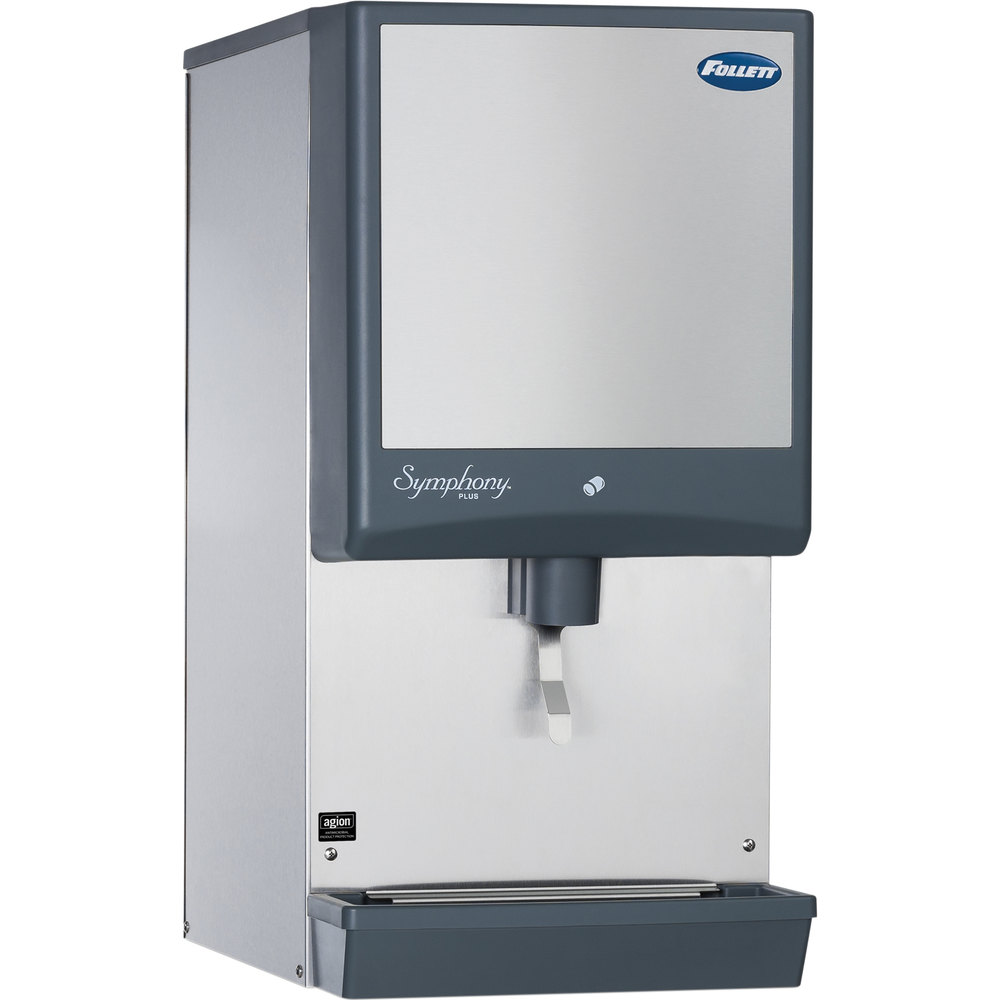 ... -LI Symphony Countertop Air Cooled Ice Maker / Dispenser - 12 lb