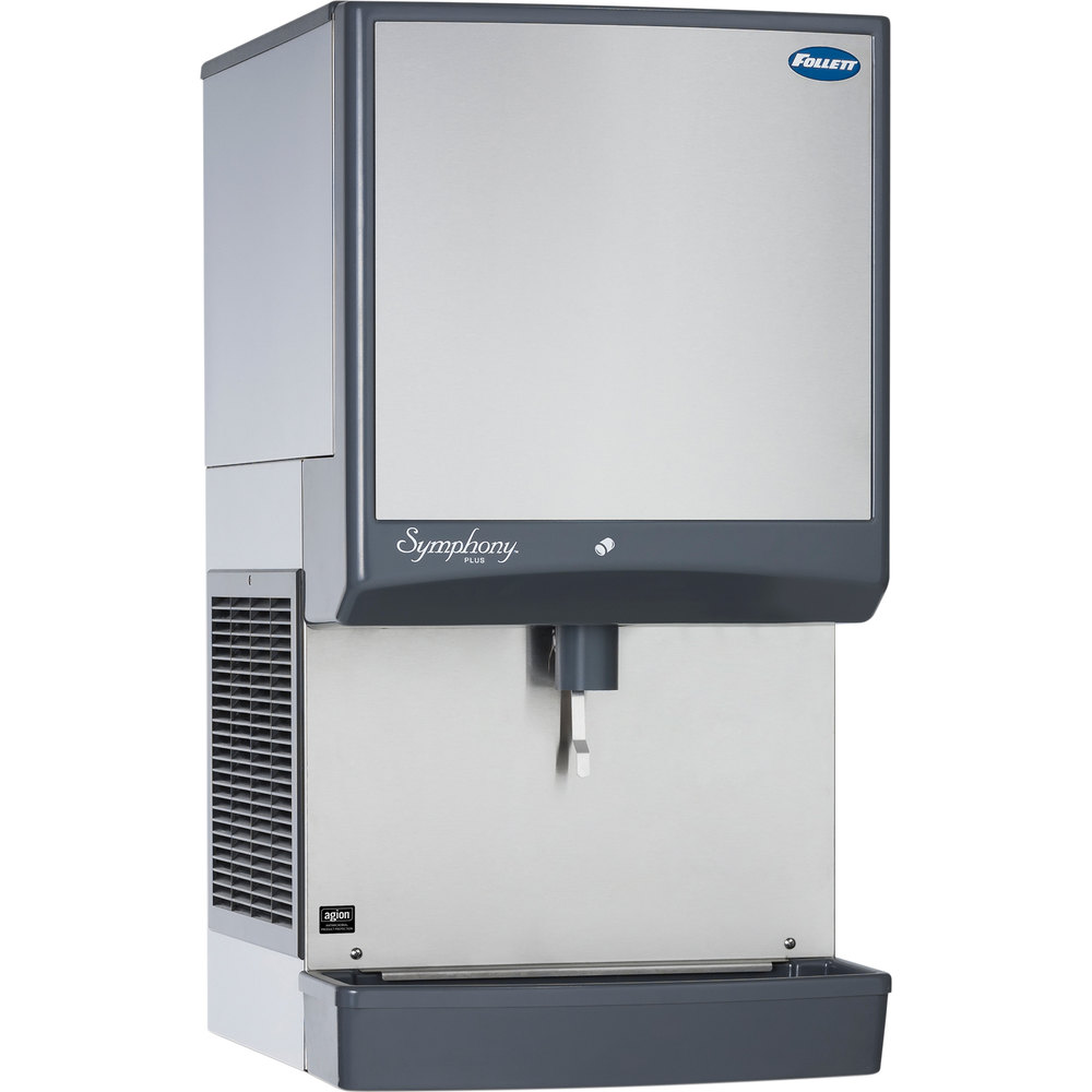 Follett 25CI425A-LI Symphony Countertop Air Cooled Ice Maker ...